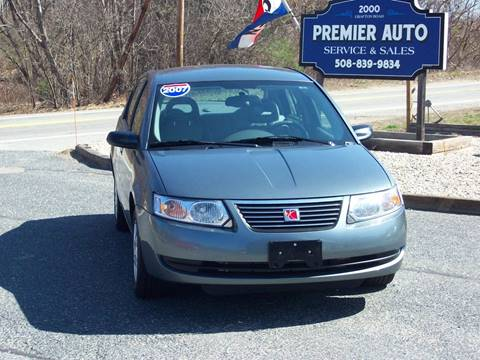 2007 Saturn Ion for sale at PREMIER AUTO SALES in Millbury MA