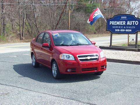 2011 Chevrolet Aveo for sale at PREMIER AUTO SALES in Millbury MA