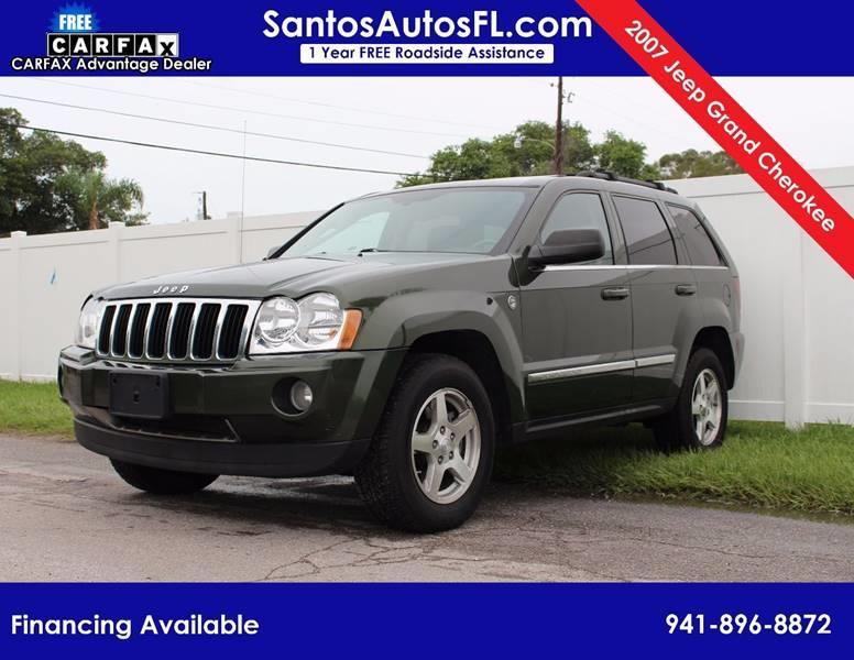2007 Jeep Grand Cherokee For Sale At Santos Autos LLC In Bradenton FL