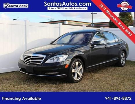 2011 Mercedes-Benz S-Class for sale in Bradenton, FL