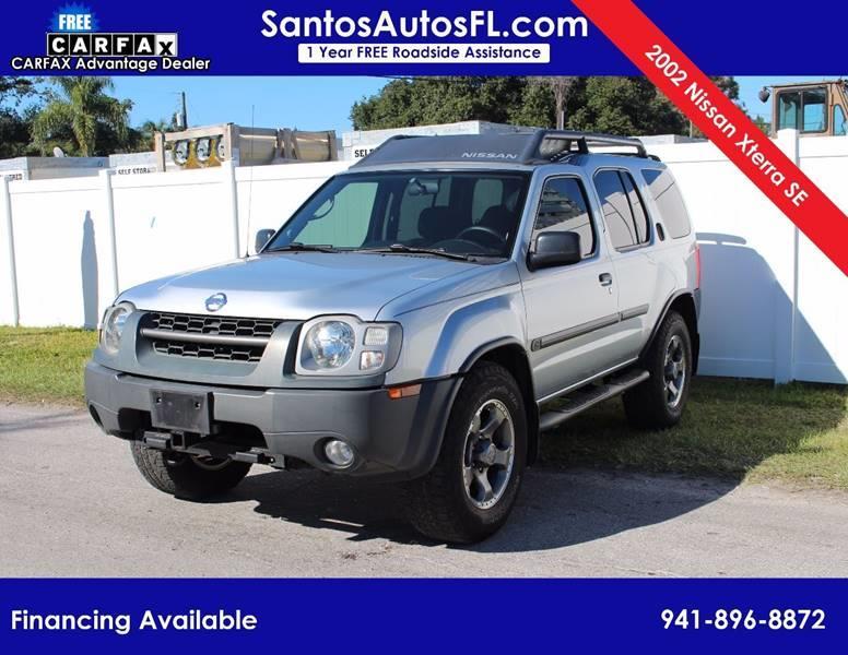 2002 Nissan Xterra For Sale At Santos Autos LLC In Bradenton FL