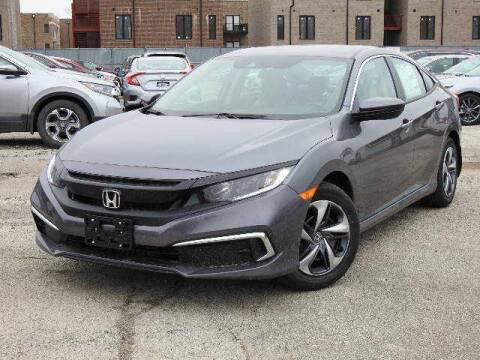 2020 Honda Civic LX for sale at McGRATH CITY HONDA in Chicago IL