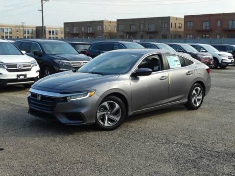 2020 Honda Insight EX for sale at McGRATH CITY HONDA in Chicago IL
