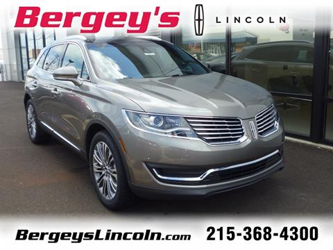 2017 Lincoln MKX for sale in Lansdale, PA