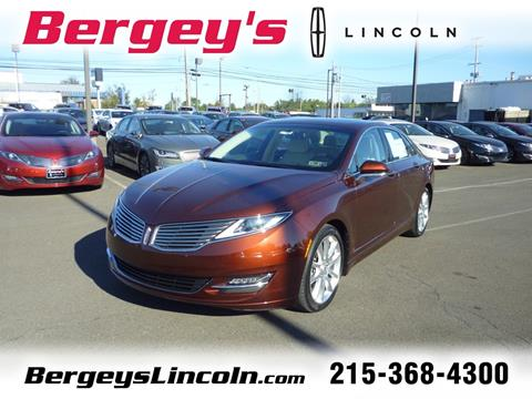 2015 Lincoln MKZ Hybrid for sale in Lansdale, PA