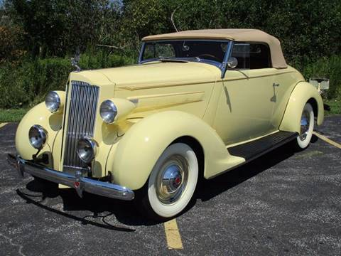 1937 Packard Fifteenth Series Conv. Coupe