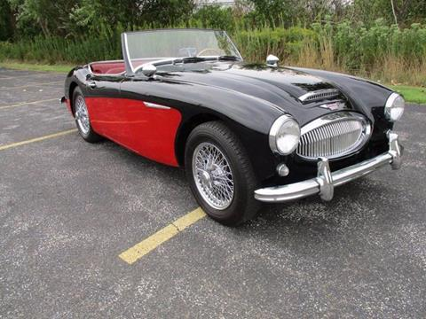 1962 Austin-Healey Mark II 3000 BT 7 2 plus 2