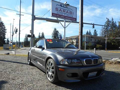 2002 BMW M3 for sale in Puyallup, WA