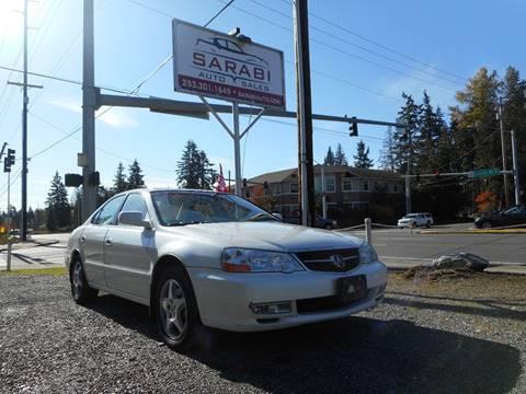 2003 Acura TL for sale in Puyallup, WA