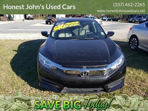 2016 Honda Civic for sale in Deridder, LA
