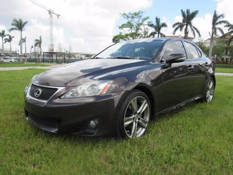 2012 Lexus IS 250 for sale in Miami, FL