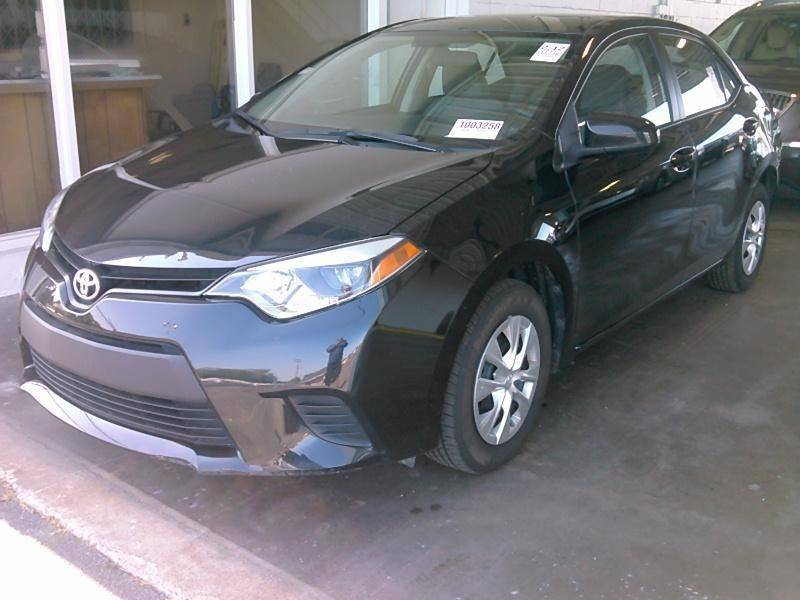 2015 Toyota Corolla For Sale At University Auto Sales Of Little Rock In Little  Rock AR