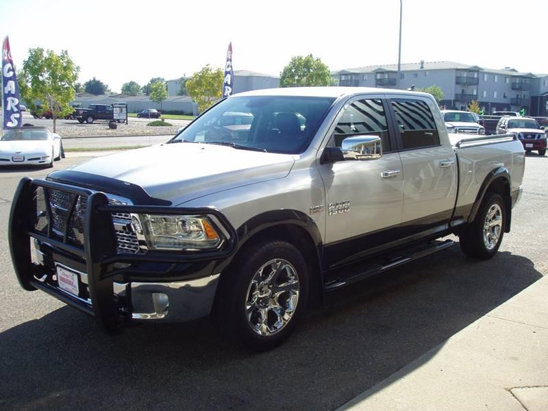 2014 RAM Ram Pickup 1500 4x4 Laramie 4dr Crew Cab 6.3 ft. SB Pickup - Minot ND