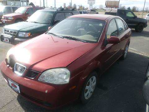 2004 Suzuki Forenza for sale at HUM MOTORS in Caldwell ID