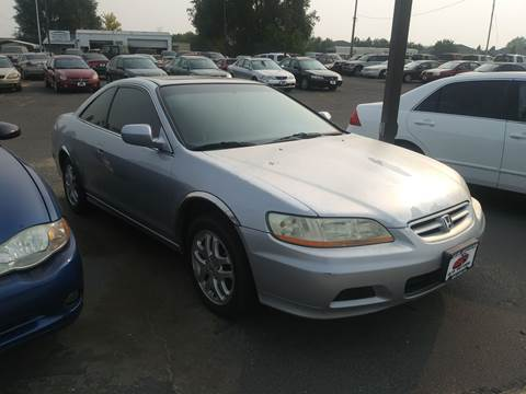 2002 Honda Accord for sale at HUM MOTORS in Caldwell ID