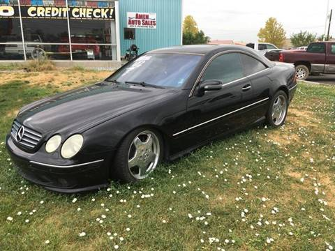 2002 Mercedes-Benz CL-Class for sale at HUM MOTORS in Caldwell ID