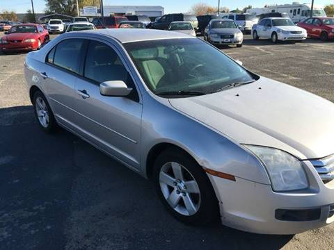 2007 Ford Fusion for sale at HUM MOTORS in Caldwell ID
