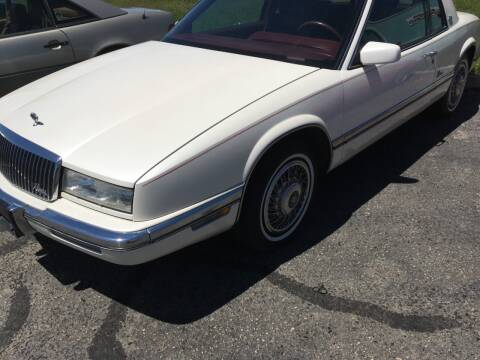 1990 Buick Riviera for sale at HUM MOTORS in Caldwell ID