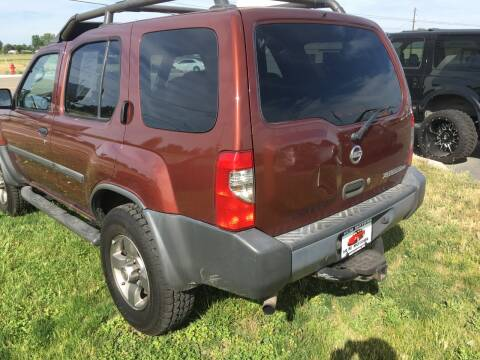 2002 Nissan Xterra for sale at HUM MOTORS in Caldwell ID