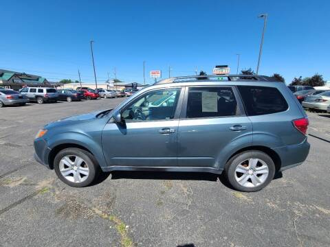 2009 Subaru Forester for sale at HUM MOTORS in Caldwell ID