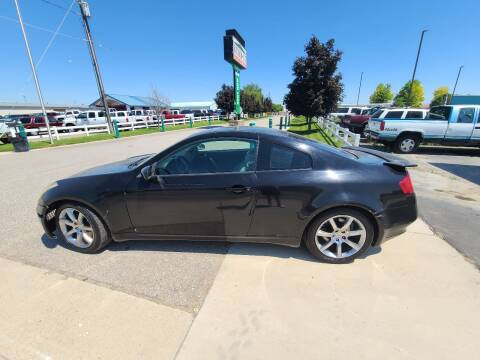 2005 Infiniti G35 for sale at HUM MOTORS in Caldwell ID