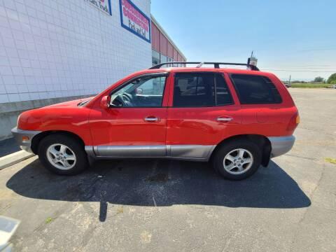 2003 Hyundai Santa Fe for sale at HUM MOTORS in Caldwell ID