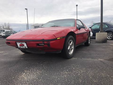 1984 Pontiac Fiero for sale in Caldwell, ID