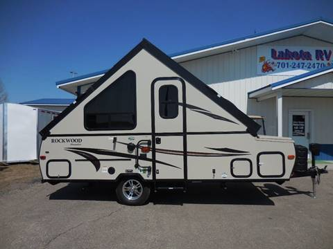 2016 Forest River Rockwood A 122 S for sale in Lakota, ND