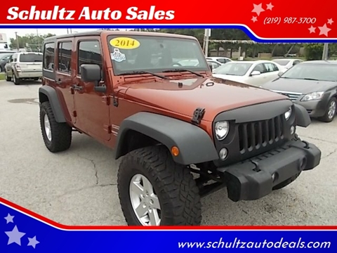 2014 Jeep Wrangler Unlimited for sale in Demotte, IN