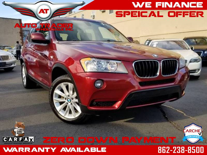 2013 BMW X3 For Sale At Auto Trader Wholesale Inc In Saddle Brook NJ