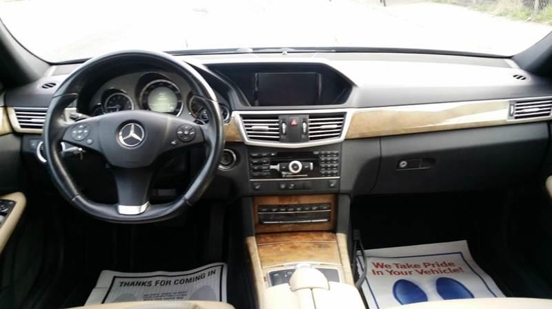 2011 Mercedes-Benz E-Class E350 Sport 4MATIC AWD 4dr Sedan - Saddle Brook NJ