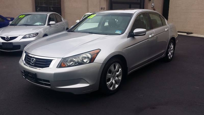 2008 Honda Accord EX-L 4dr Sedan 5A w/Navi - Saddle Brook NJ