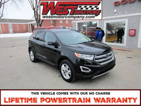 2016 Ford Edge for sale at West Motor Company in Hyde Park UT