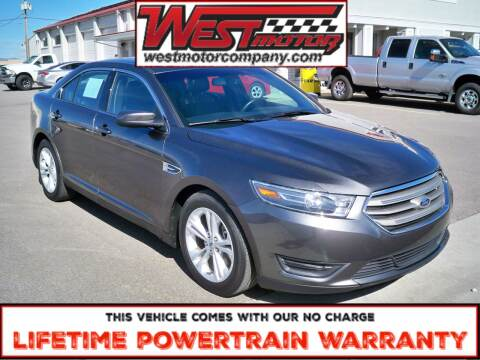 2016 Ford Taurus for sale at West Motor Company in Hyde Park UT