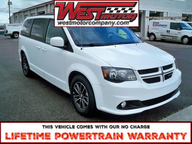 2019 Dodge Grand Caravan for sale at West Motor Company in Hyde Park UT