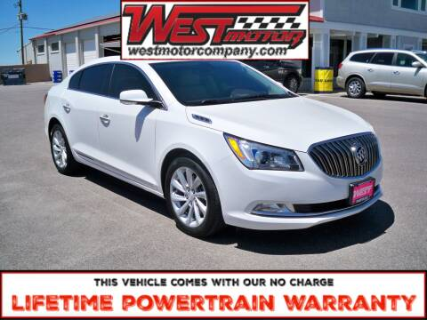 2016 Buick LaCrosse for sale at West Motor Company in Hyde Park UT