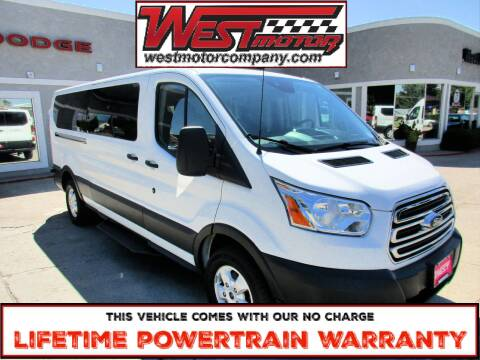 2018 Ford Transit Passenger for sale at West Motor Company in Hyde Park UT