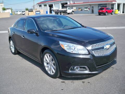 2013 Chevrolet Malibu for sale at West Motor Company in Hyde Park UT