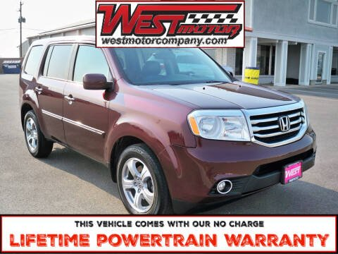 2013 Honda Pilot for sale at West Motor Company in Hyde Park UT