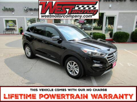 2017 Hyundai Tucson for sale at West Motor Company in Hyde Park UT