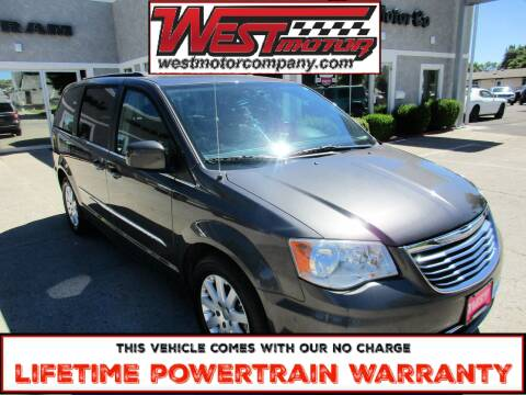 2015 Chrysler Town and Country for sale at West Motor Company in Hyde Park UT