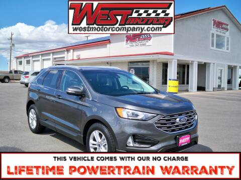 2020 Ford Edge for sale at West Motor Company in Hyde Park UT