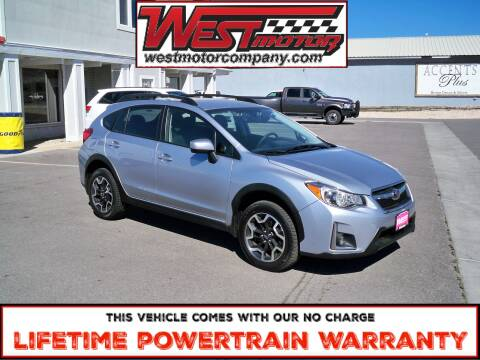 2017 Subaru Crosstrek for sale at West Motor Company in Hyde Park UT