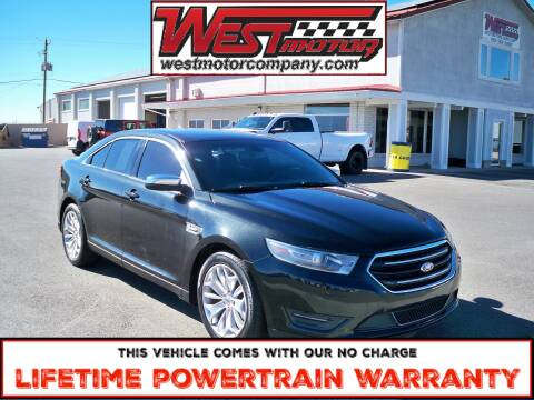 2013 Ford Taurus for sale at West Motor Company in Hyde Park UT