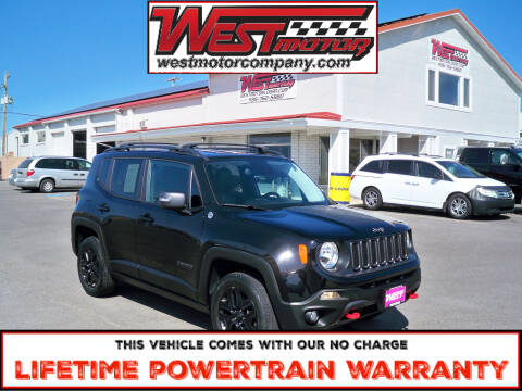 2017 Jeep Renegade for sale at West Motor Company in Hyde Park UT