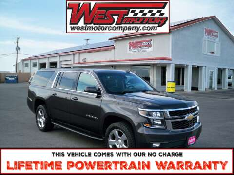 2017 Chevrolet Suburban for sale at West Motor Company in Hyde Park UT