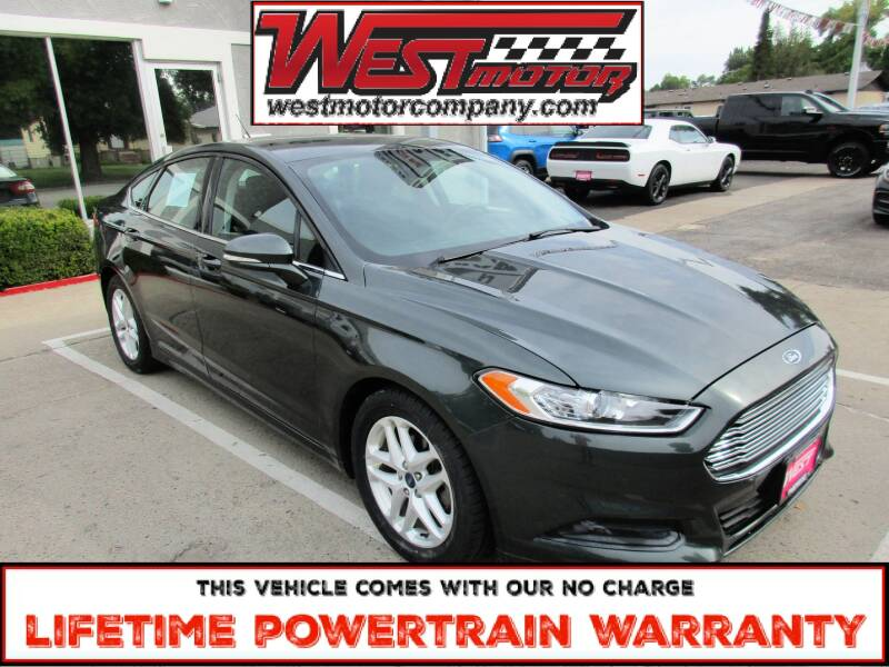 2015 Ford Fusion for sale at West Motor Company in Hyde Park UT