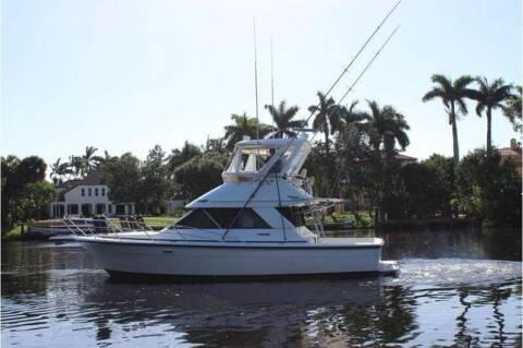 1990 Phoenix 38 SFX Conv.    C(561)573-4196 for sale at 1000 Cars Plus Boats - LOT 5 in Miami FL