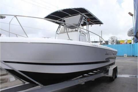 2002 Pro-Line 25 Sport CC   C(561)573-4196 for sale at 1000 Cars Plus Boats - LOT 5 in Miami FL