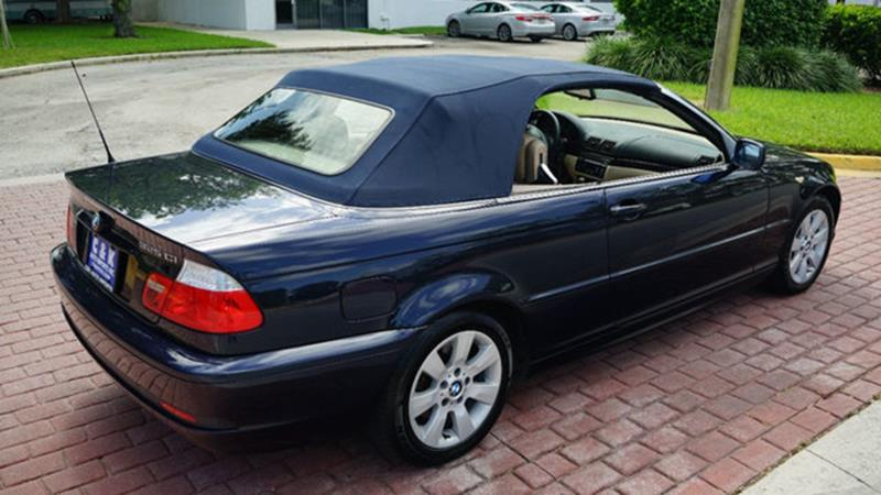 Bmw Series Ci Dr Convertible In Miami FL Cars - 2006 bmw 325ci convertible